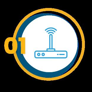Wireless device Vector icon