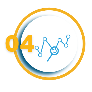 Data Analysed vector icon