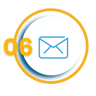 Email notification vector icon